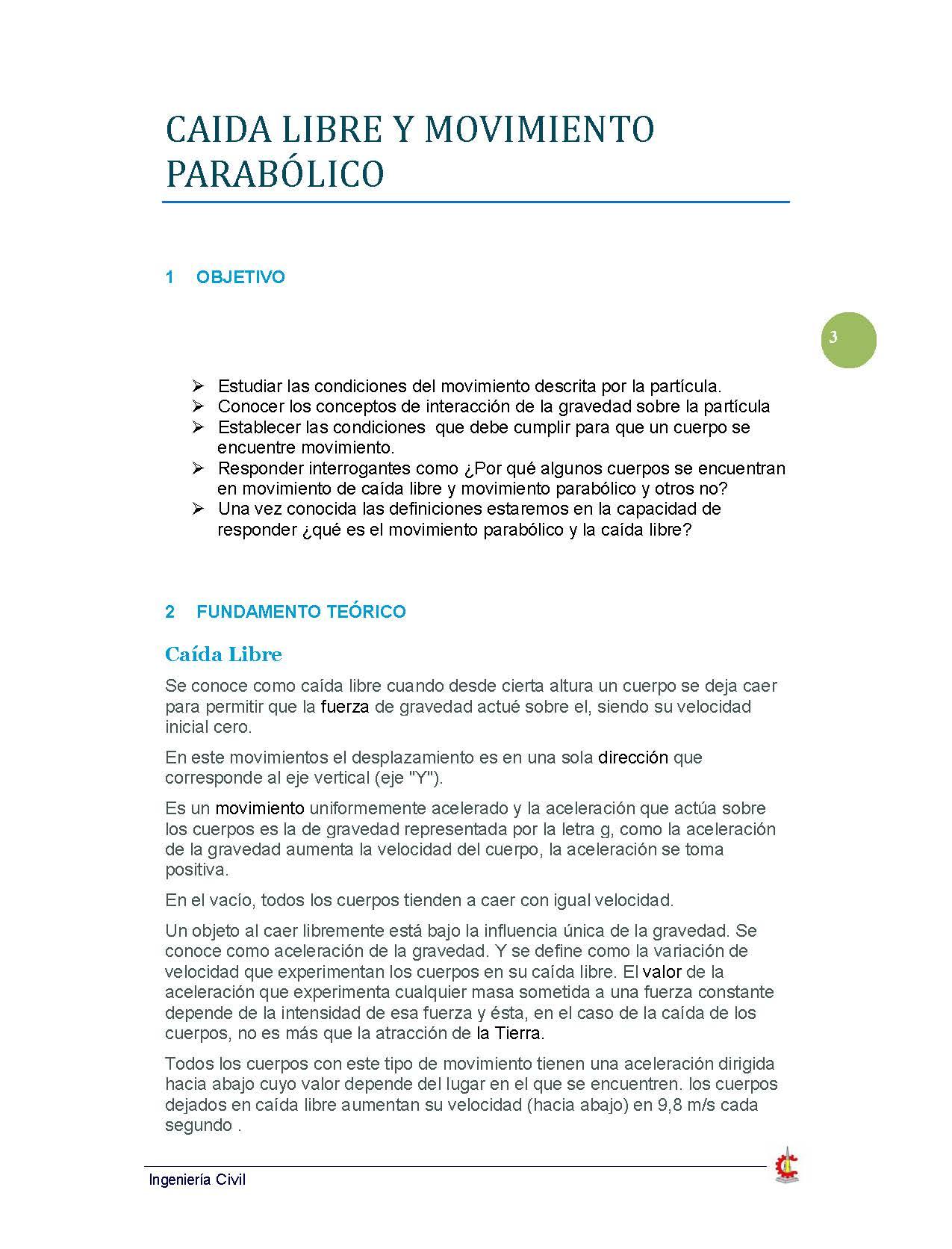 Fisica I | Civil YeDaRo